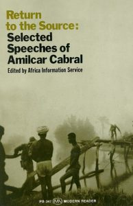 Cover of Return to the Source: Selected Speeches of Amilcar Cabral