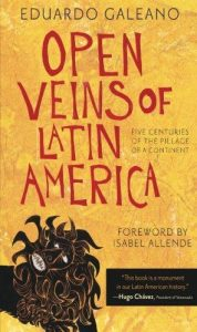 Cover of Eduardo Galeano's Open Veins of Latin America