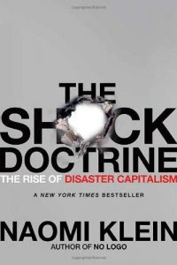 Cover of Naomi Klein's The Shock Doctrine