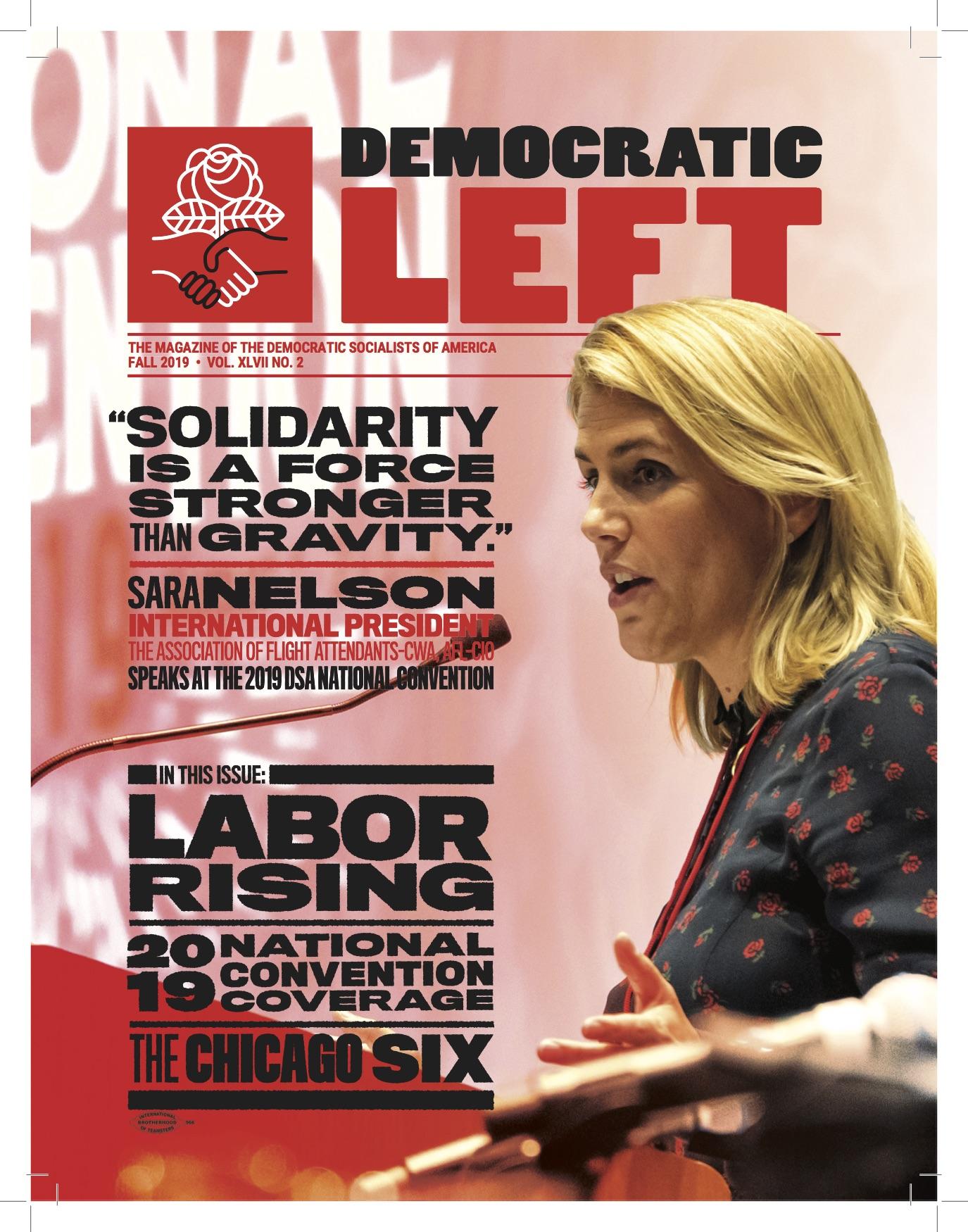 Democratic Left - A Publication of Democratic Socialists of